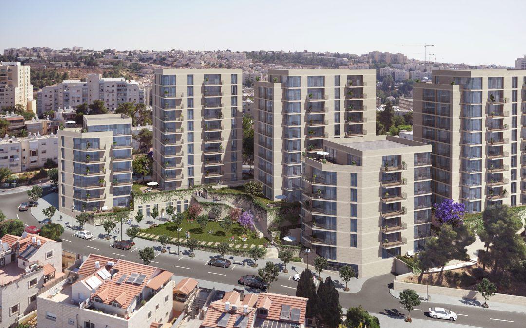 ירושלים: תוכנית פינוי בינוי ל-136 דירות אושרה למתן תוקף