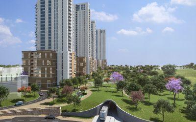 כ-1,000 דירות חדשות במגדלים בני 36 קומות – בר יוחאי